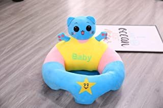 SOFAS Baby Learning Animal Seat Children s Baby Safety Dining Chair  Cartoon Sweet Seats Infant Multi Seat Plush for Children Room 40cm cat