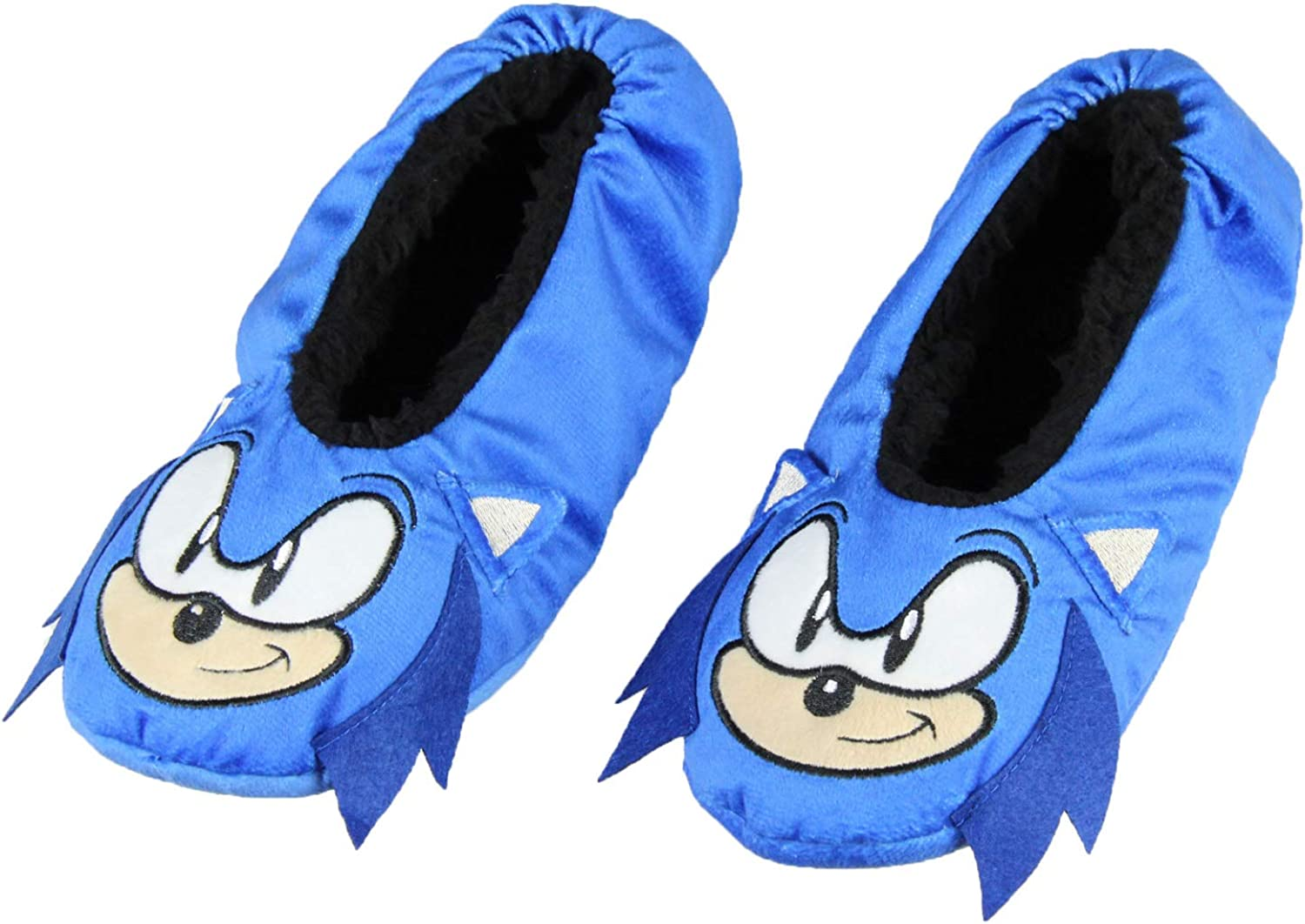 Sonic The Hedgehog Slippers 3D with Character Socks No-S Industry No. 1 Slipper Max 82% OFF