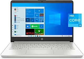"""2021 Premium HP 14.0"""" FHD(1980x1080) Laptop Computer, Inter Core i3-1115G4 up to 4.1GHz, 4GB DDR, 256GB SSD, Wi-Fi and Blu..."""