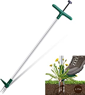 Ohuhu Stand Up Weeder with 3 Stainless Steel Claws, 39