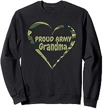 Proud Army Grandma Nan US UK Military British Grandparent Sweatshirt