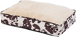HiEnd Accents DB3067 Cowhide Pattern Dog Bed, Multicolor, Large