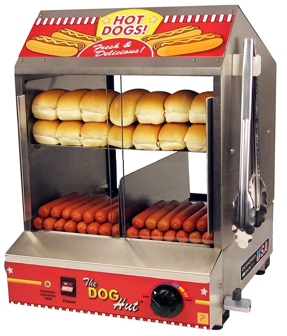 Paragon 8020 Hot Dog Hut Steamer Merchandiser for Professional Concessionaires Requiring Commercial Quality & Construction