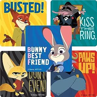 Zootopia Movie Stickers - Prizes 100 per Pack