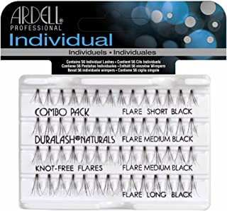 fe6bd384d7c Ardell Professional Duralash Natural Knot Free Eye Lashes, Combo Black