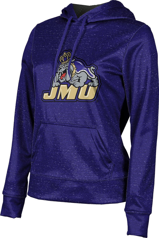 James Madison University Foundation Girls' Pullover Hoodie, School Spirit Sweatshirt (Heather)