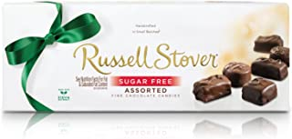 Russell Stover Sugar-Free Assorted Chocolates, 8.25 Ounce Box (Pack of 3)