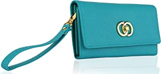 MKF Collection Maya Is a Turn Look Designer Wallet Wristlet by Mia K. Farrow