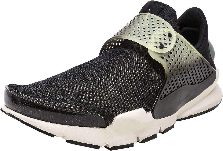 Nike Men's Sock Dart Se Premium Black Bio Beige-Light Bone Low Top Running shoes - 9M
