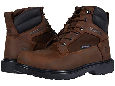 Wolverine Roughneck EPX 6 Steel Toe Work Boot (Brown) Men