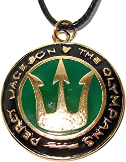 QueenGEEK Percy Jackson and the Olympians Trident Pendant Necklace US SELLER