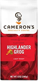 highlander grogg coffee flavor