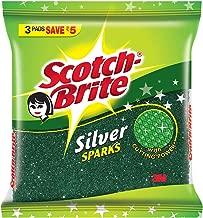 Scotch-Brite Scotch Brite Silver Sparks Pad Small - Pack of 3