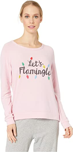 Let's Flamingo Sweater