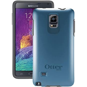 Otterbox Samsung Galaxy Note 4 Symmetry Series Case - Retail Packaging - Blue Print Ii