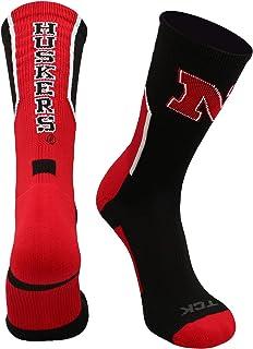 TCK University of Nebraska Cornhuskers Socks Perimeter Crew