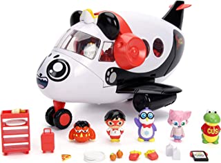 Jada Toys Ryan's World Combo Panda Airlines Playset, White, Large