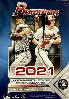 2021 Topps Bowman Baseball Blaster Box (72 cards/box)