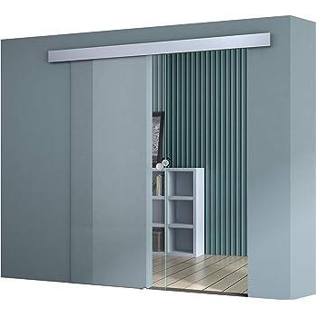 BxH: 102,5 x 215 cm Diseño Puerta Corredera de Cristal Amalfi ts19h de SC de