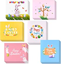 TUPARKA 36 Pcs Happy Easter Cards 2019, Easter Greeting Cards Assortment,Spring Note Cards with 36 Envelopes and Sticker for Kids