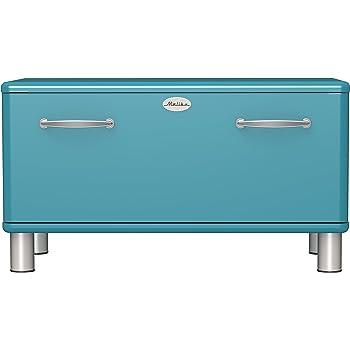 Cassapanca in Velluto Happy Home Company 10246 Design Ottomane con vano portaoggetti