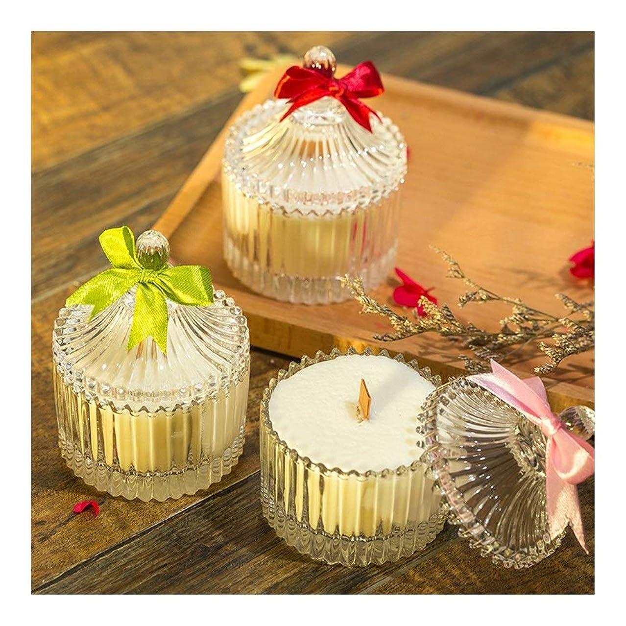 辛な障害者解決Guomao 大豆の香料入りの蝋燭の無煙ガラスの蝋燭の結婚祝い (色 : Marriage)