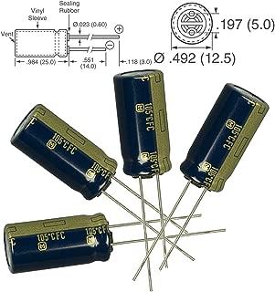 10V Voltage Inc. NTE Electronics NEH3300M10FE Series NEH Aluminum Electrolytic Capacitor 20/% Capacitance Tolerance Axial Lead 3300/µF Capacitance