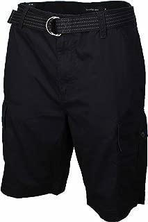 Calvin Klein Jeans Men Cargo Shorts with Adjustable Belt
