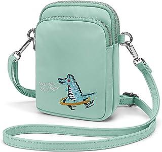 Wind Took Handy Schultertasche Kleine Damen Umhängetasche Handytasche Brieftasche Kartentasche Crossbody Bag Mini Sack