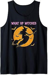 What Up Witches - Sorcière d'Halloween Débardeur