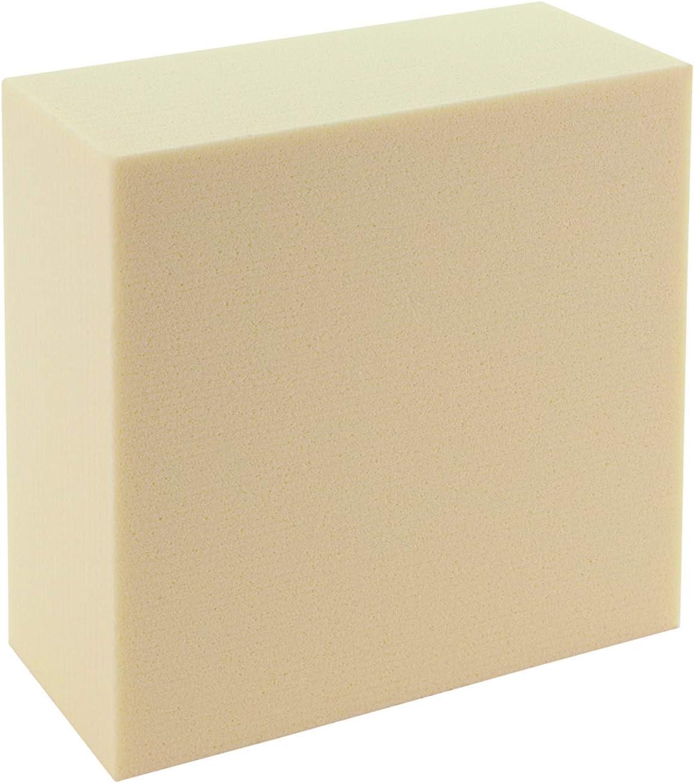 Sculpture Block SB 1515751, de espuma rígida, color blanco, 15x 15x 7,5cm