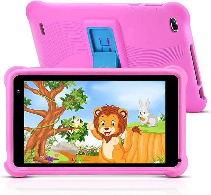 Tablet per bambini da 7 pollici 32gb android 10.0 go wifi fotocamera 2gb ram hd touch screen qunyico B08CXB85WJ