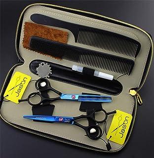 Professional Hair Snijden Schaar 5,5 Inch Japan 6CR RVS Set, Hoge Kwaliteit Sharp Hulpmiddelen Van De Kapper Voor Kappers ...
