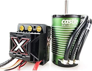 Castle Creations CSE010-0145-04 Monster X 25.2V ESC, 8A Peak BEC with 1512-2650Kv Censored Motor