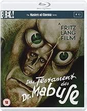 Das Testament Des Dr Mabuse Masters of Cinema  Dual Format Edition  1933