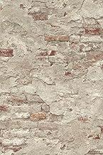 Rasch Behang 939323 vliesbehang in steen-look - 10,05 m x 53 cm (l x b) vliesbehang Rasch Collection Factory III, beige, 1...
