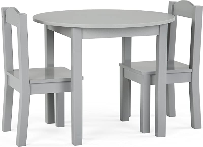 Tot Tutors TC763 Table And Chair 3 Piece Grey
