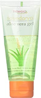 Patanjali Saundarya Aloe Vera Gel Rejuvenates & Gives You Glowing Skin (2 X 60Ml) by Patanjali