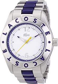 Lacoste Biarritz For Women White Dial Stainless Steel Band Watch - 2000752