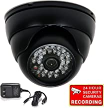 VideoSecu 700TVL Day Night Vision Outdoor Infrared Home Security Camera Built-in 1/3