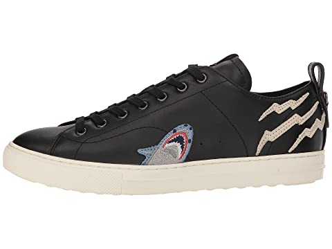 Low Patched Sharkie Top COACH Black C121 xnqtYwZ0S