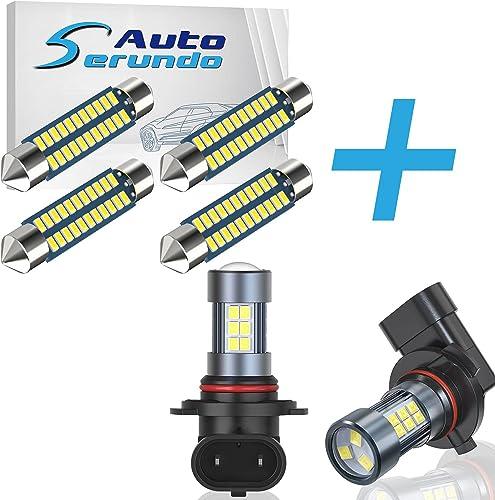 popular Serundo Auto 4pcs high quality 578 wholesale Led Bulb + 2pcs 9006 LED Fog Light… online sale