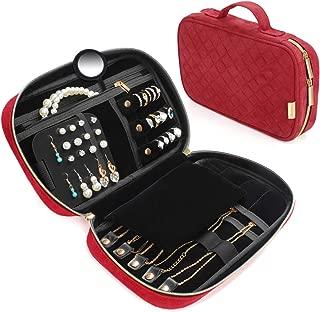 locking travel jewelry case