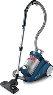 Severin MY 7119 Aspiradora de Trineo sin Bolsa S?Special Carpet & Carpets Nonstop, ABS, Azul/Gris