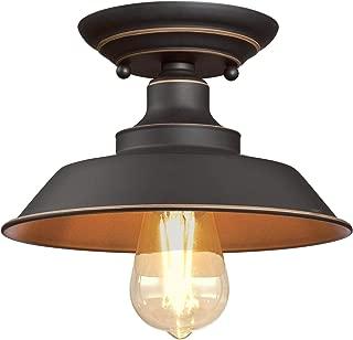 Best bronze semi flush mount ceiling light Reviews