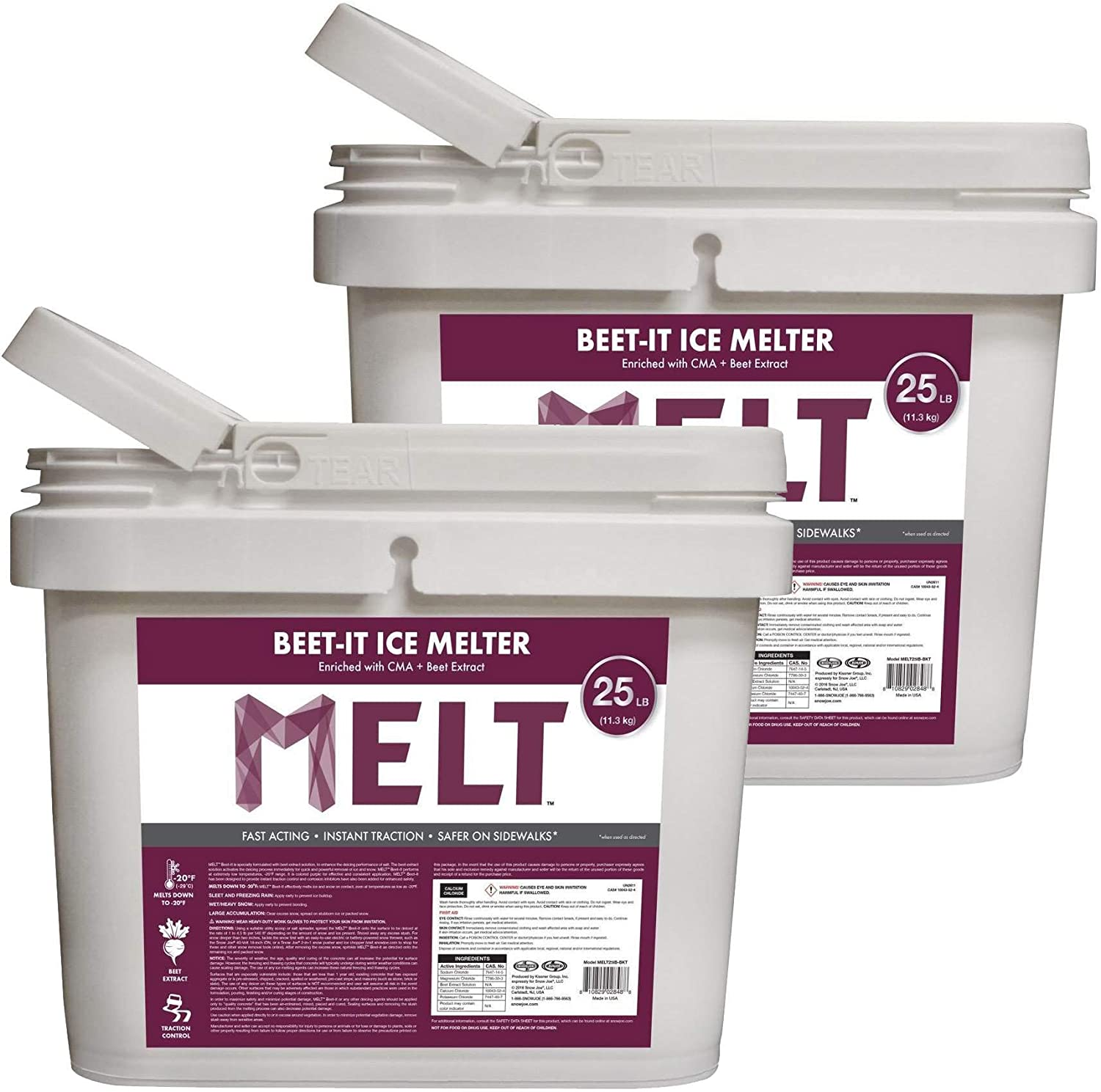 Snow Joe Beet Max 70% OFF It and Ice Extract 25 Melter Max 62% OFF Lbs CMA w