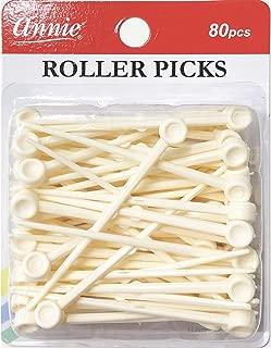 Annie Plastic Roller Picks 80PCS #3199