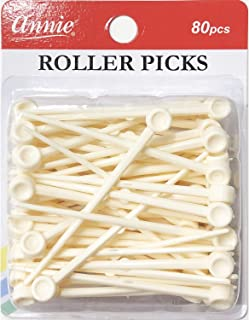 Annie Plastic Roller Picks 80PCS #3199