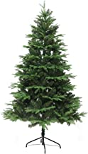WSJTT Seasonal Décor Christmas Trees Branch Tips Natural Realistic On-PVC Pine Tree with Metal Stand Encrypted Full Tree C...