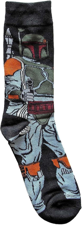 Hyp Star Wars Boba Fett Full Pose Socks 6-1 Detroit Mall Ranking TOP4 Size Shoe Men's Crew
